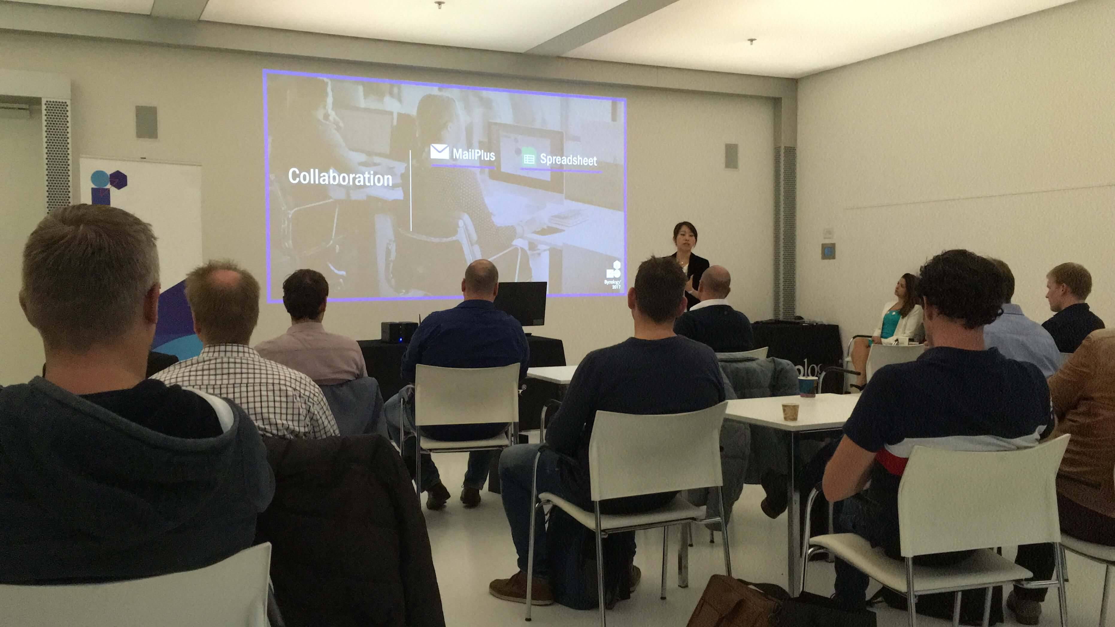 Event Management: Synology in Utrecht & Paris - the most